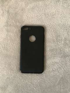 Iphone 7+/8+ case in black
