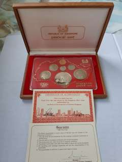1980 & 1981 Proof Coin Set