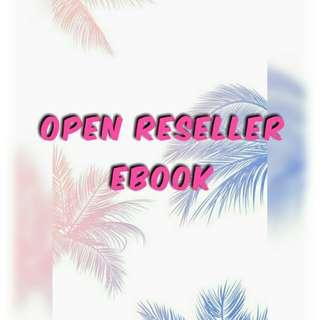 OPEN Reseller EBOOK 🎉🎉🎉
