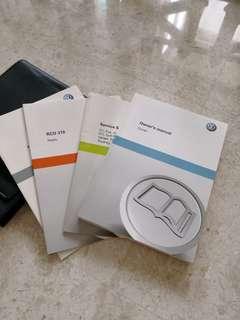 Volkswagen Touran owner's manual, $5