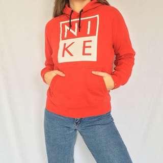 Red Nike Hoodie Sweater