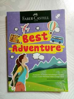 Novel kumpulan cerpen BEST ADVENTURE faber castell
