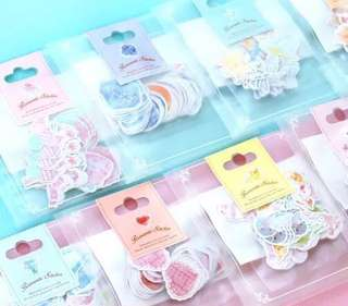 Cute sticker flakes / planner stickers