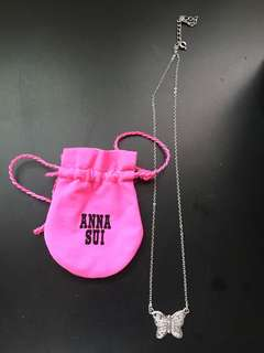 Anna Sui butterfly necklace