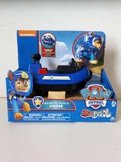 Brand new in box Nickelodeon Paw Patrol Chase Sea Patrol Vehicle 3+