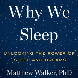 E-book Why We Sleep: Unlocking the Power of Sleep and Dreams