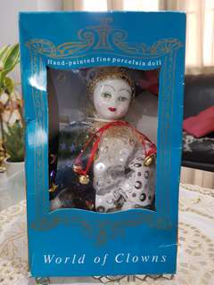 Hand painted fine porcelain doll