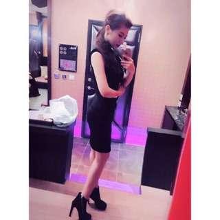 🚚 全新 晚宴服 MOMA 成熟系晚宴貼身長洋裝 性感 顯曲線 僅試穿乙次 婚禮 春酒 尾牙 正式場合穿著