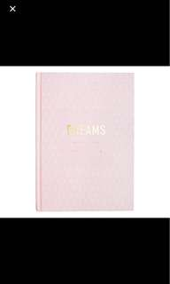 Kikki K DREAMS JOURNAL: INSPIRATION