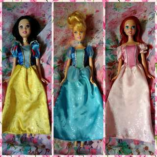 TAKE ALL! Mattel Disney Princess Dolls