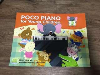 Piano Music Book - Poco Piano Book 3