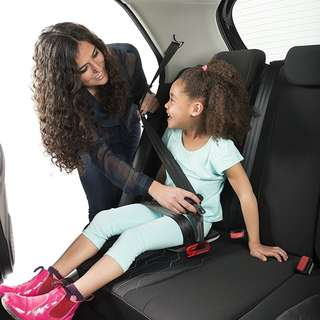 Foldable Portable Child Safety Car Seat (Compact, Travel Friendly, Uber Grab Private Hire Cars child restraints NOT mifold)