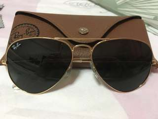 Authentic Ray-Ban Classic Aviator Sunglasses