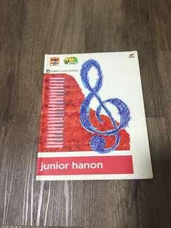 Piano Music Book - Junior Hanon (Alred's)