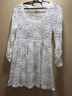 Forever 21 Lace long sleeve blouse