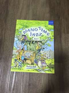 Piano Music Book - Piano Time Jazz Book 1