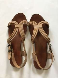 ZARA Collection Summer Leather Sandals