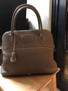 Hermes Bolide 31 Etoupe like new condition