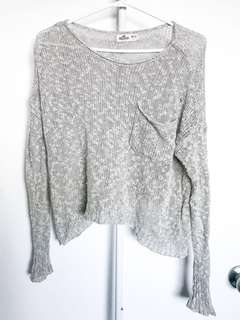 Taupe Hollister Sweater