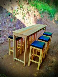 Set meja kursi cafe kedai