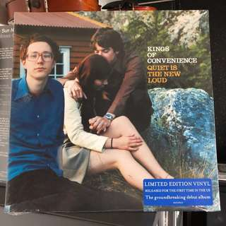 Kings of Convenience. Quiet is the new loud. Vinyl Lp. New