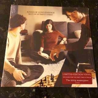Kings of Convenience - Riot on an empty street. Vinyl Lp. New