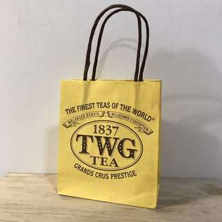 🚚 TWG tea logo紙袋