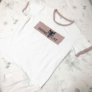 Qing Qing Cao T shirt (include mail)