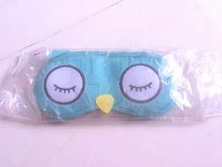 Cute Green owl eye mask