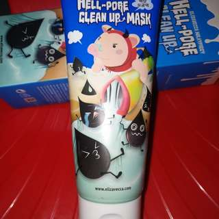 Hell pore clean up mask!