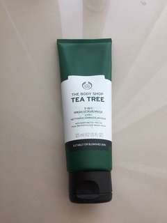 The Body Shop Tea tree 3in1 wash-mask-scrub