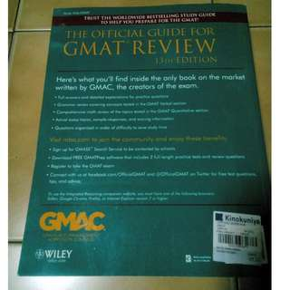 GMAT Review 13th Edition