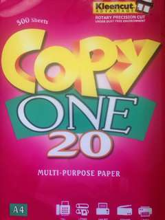Copy One paper clearance sale