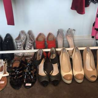 SELLING ALL SHOES