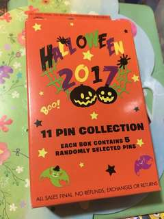 迪士尼 襟章 徽章 Disney pin Disneyland pins Halloween box