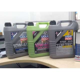 BMW E60 Engine Oil Service Package