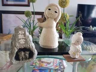 Japanese display figurine