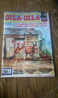 GILA-GILA comic magazine