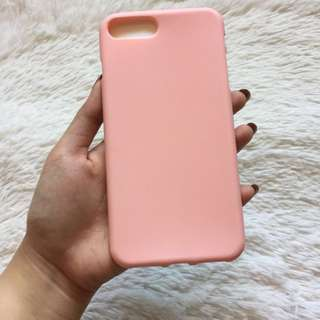 Iphone 7+ 8+ Pink Peach Candy Case