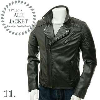 jaket pria best seller semi kulit asli garut