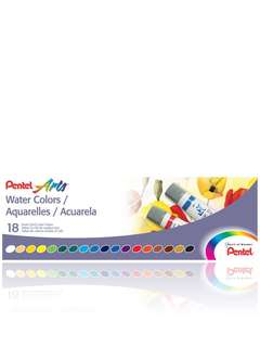 Pental 18 water colours