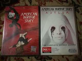 DVD KOMBO AMERICAN HORROR STORY