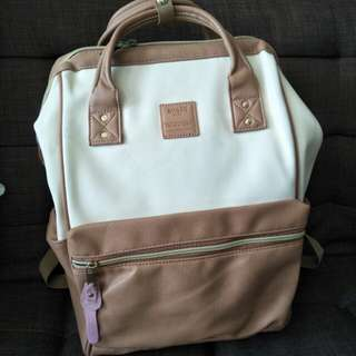Backpack Anello Leather Size L