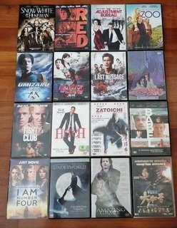 Assorted dvd movies for sale $1