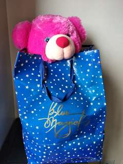 SALE : Blue Magic Large Giorgio Teddy Bear