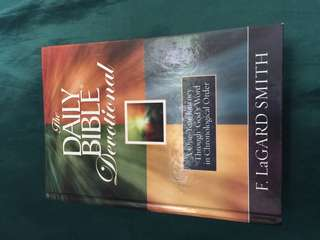 Hardbound Daily Bible Devotional