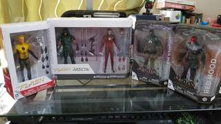 DC Action Figures (4pc Collection)