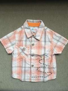 La Compagnie des Petits short-sleeved dress shirt