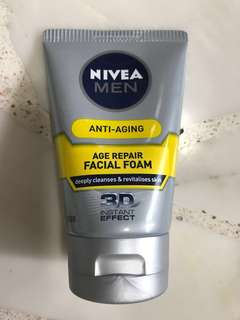 Nivea anti aging facial foam