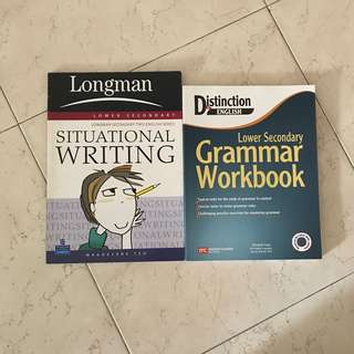 Lower secondary English assessment books